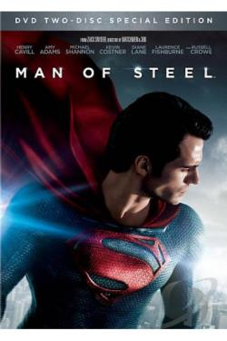 Man of Steel DVD Cover Art