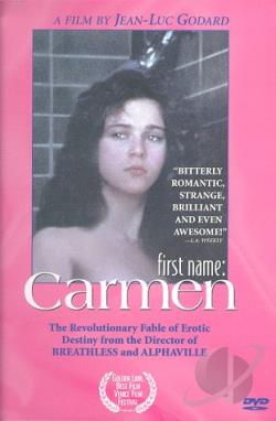 First Name: Carmen DVD Cover Art