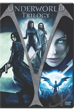 Underworld/Underworld: Evolution/Underworld: Rise Of The Lycans 3-Pack DVD Cover Art