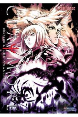 Claymore - Volume 6: The Awakening DVD Cover Art