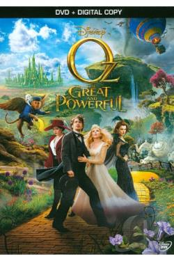Oz the Great and Powerful DVD Cover Art