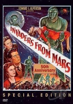 Invaders From Mars DVD Cover Art