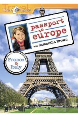 Passport to Europe - France & Italy DVD Cover Art