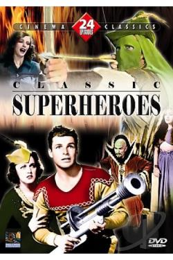 Classic Superheroes Collection DVD Cover Art