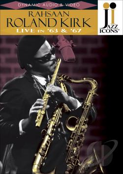 Jazz Icons - Rahsaan Roland Kirk: Live in '63 and '67 DVD Cover Art