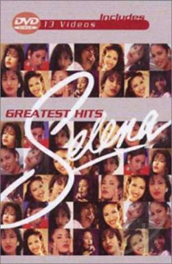 Selena - Greatest Hits DVD Cover Art