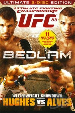 UFC 85 - Hughes Vs. Alves DVD Cover Art