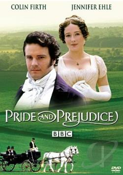 Pride and Prejudice DVD Cover Art