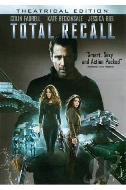 Total Recall DVD Cover Art