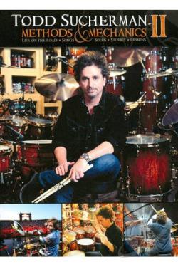 Todd Sucherman: Methods and Mechanics II - Life on the Road DVD Cover Art