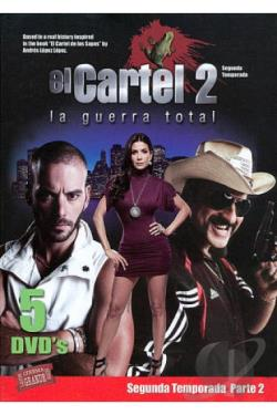 Cartel 2: La Guerra Total - Segunda Temporada, Parte 2 DVD Cover Art