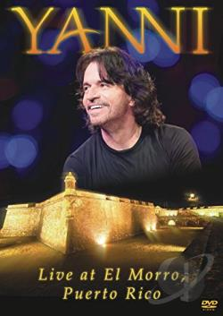 Yanni: Live at El Morro, Puerto Rico DVD Cover Art