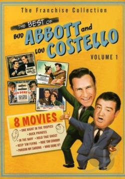 Best of Abbott & Costello - Volume 1 DVD Cover Art