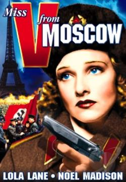 Miss V From Moscow DVD Cover Art