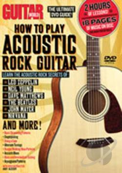 Guitar World: How To Play Acoustic Rock Guitar DVD Cover Art