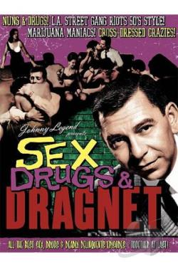 Sex, Drugs & Dragnet DVD Cover Art