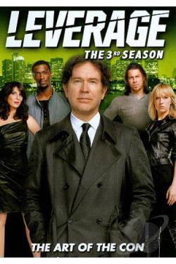 Leverage - The Complete Third Season DVD Cover Art