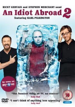 An Idiot Abroad: Series 2 (Pal/Region 2) DVD Cover Art