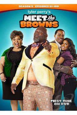 Tyler Perry's Meet the Browns: Season 5 DVD Cover Art