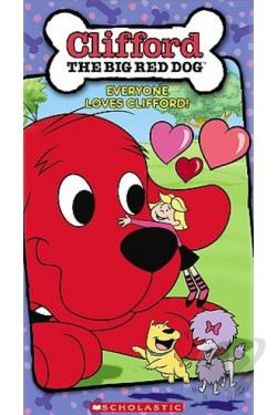 Clifford the Big Red Dog - Everyone Loves Clifford DVD Cover Art