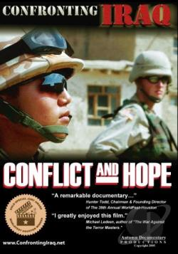 Confronting Iraq: Conflict and Hope DVD Cover Art