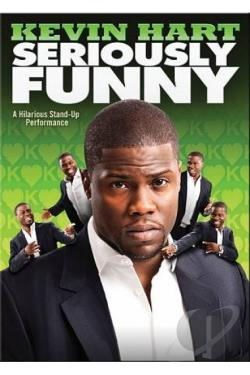 Kevin Hart: Seriously Funny DVD Cover Art