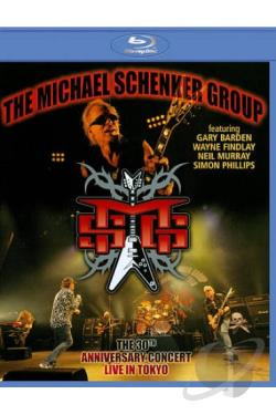 Michael Schenker Group: Live in Tokyo - 30th Anniversary Tour BRAY Cover Art