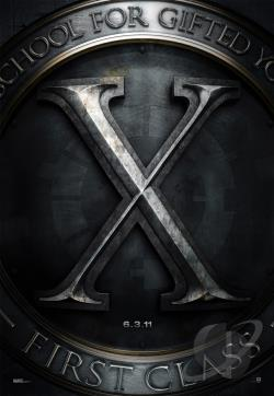 X-Men: First Class DVD Cover Art