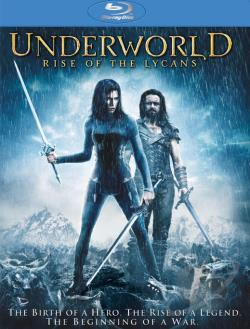 Underworld: Rise of the Lycans BRAY Cover Art
