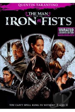 Man With the Iron Fists DVD Cover Art