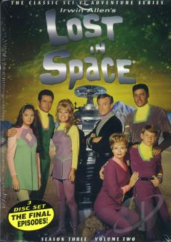 Lost in Space - Seasons 2 & 3 DVD Cover Art
