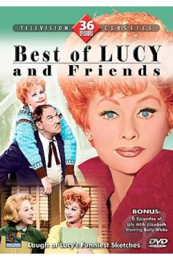 Best of Lucy and Friends DVD Cover Art