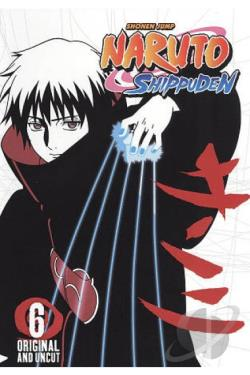 Naruto: Shippuden, Vol. 6 DVD Cover Art