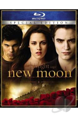 Twilight Saga: New Moon BRAY Cover Art