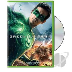 Green Lantern DVD Cover Art