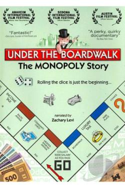 Under the Boardwalk: The MONOPOLY Story DVD Cover Art