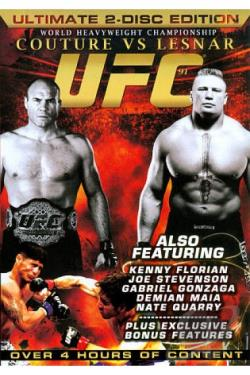 Ultimate Fighting Championship - UFC 91: Couture vs. Lesnar DVD Cover Art