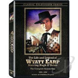 Life and Legend of Wyatt Earp - The Complete Season One DVD Cover Art
