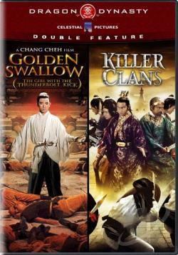 Golden Swallow/Killer Clans DVD Cover Art
