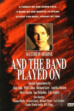 And the Band Played On DVD Cover Art