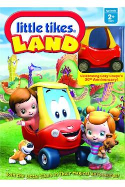 Little Tikes - Little Tikes Land DVD Cover Art