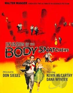 Invasion of the Body Snatchers BRAY Cover Art
