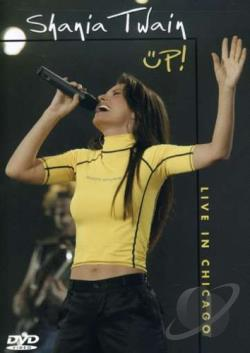 Shania Twain - Up!: Live In Chicago DVD Cover Art