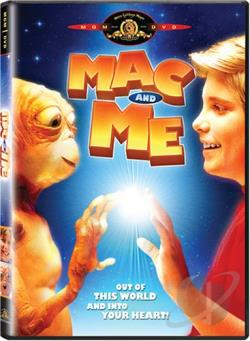 Mac and Me DVD Cover Art