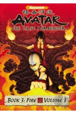 Avatar: The Last Airbender - Book 3: Fire - Vol. 3 DVD Cover Art