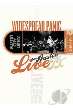 Widespread Panic - Live From Austin, Texas DVD Cover Art
