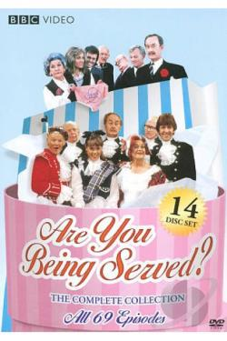 Are You Being Served? - The Complete Collection DVD Cover Art