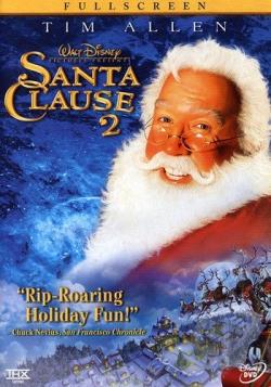 Santa Clause 2 DVD Cover Art