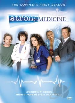Strong Medicine - The Complete First Season DVD Cover Art