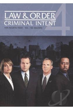 Law & Order: Criminal Intent - The Fourth Year DVD Cover Art